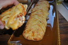Braided Pizza Calzones LIKE Cooking Panda for more delicious videos!!!!