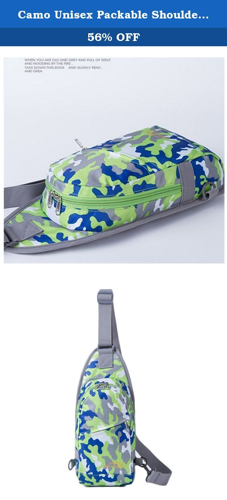 Camo Unisex Packable Shoulder Backpack Sling Chest Sport Hiking Bag Cover Bicycle Cross Body Bag Rucksack Travel Backpack Camping Bag Bookbag. ★Fashion Joker Camo Shoulder Sling Unbalance Backpack Satchel Outdoor Travel Bike ★Specifications: 1.Style: Fashion/Casual/Sport 2.Material: water-repellent and tear-resistant Nylon 3.Belt length:70-112cm 5.G???? ?.