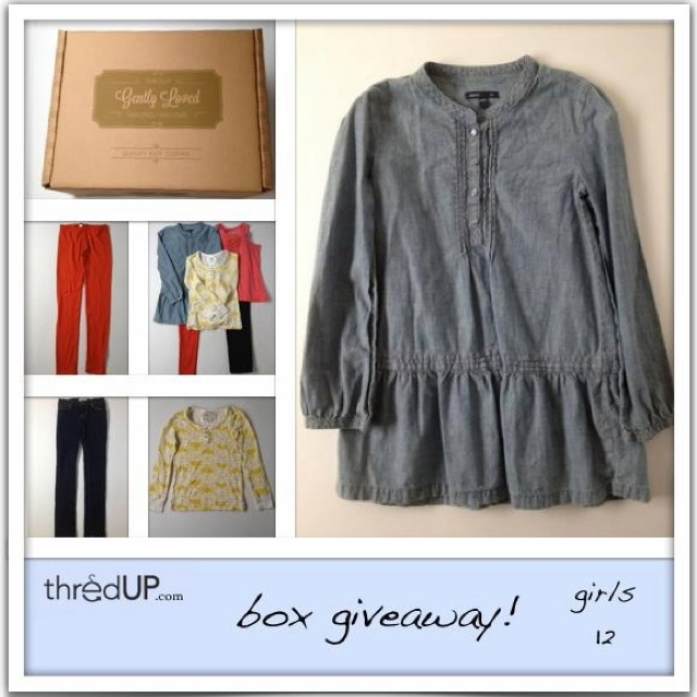 give away thredupCute Mi Daughters, Girls Boxes, 12 Girls, Thredup Goodies, Products