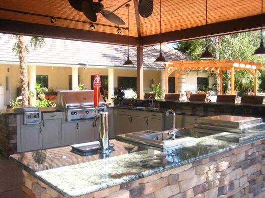 260 best Outdoor Kitchen Design Ideas images on Pinterest - summer kitchen design
