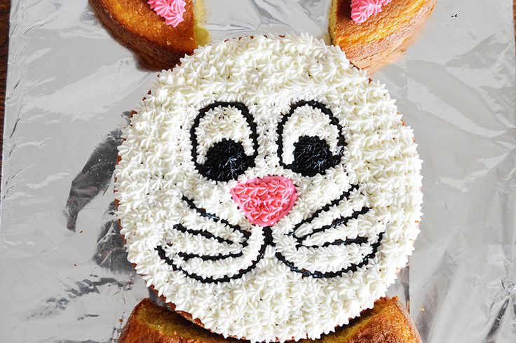 Bunny Cut Up Cake | Homan at Home