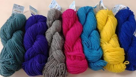 A Skein of Yarns by JK Chapman. Local, NB stories. Short and easy!
