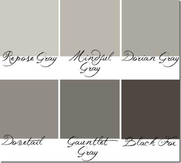 Segreto Secrets Blog - Why do we lovegray? Sherwin Williams grays