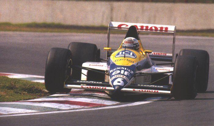 Mexico 1989  WILLIAMS  FW12C