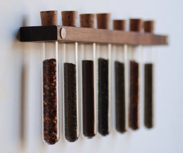 Tube Spice Rack
