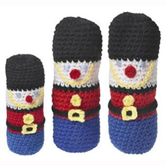 Free Knitting Pattern Toy Soldier : The 47 best images about Crochet - Nutcracker And Other ...