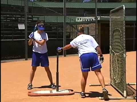 Best Fastpitch Softball Hitting Drills - Lisa Fernandez and Kirk Walker - YouTube