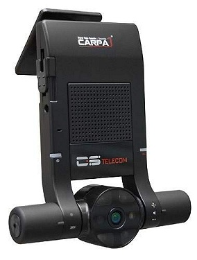 You can create your own Top Gear style clips with this Carpa Dual Lens Camera - Model Carpa 120