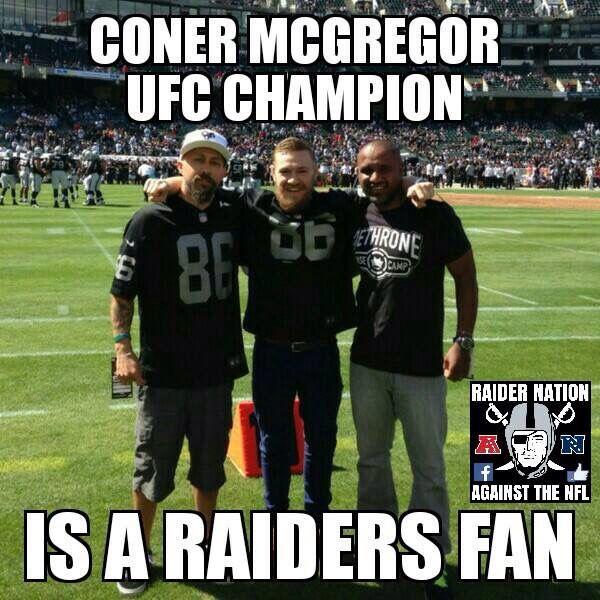 McGregors a fan