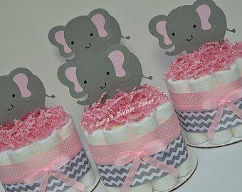 Lot de 3 bleu Royal & ours or gâteaux de par LanasDiaperCakeShop