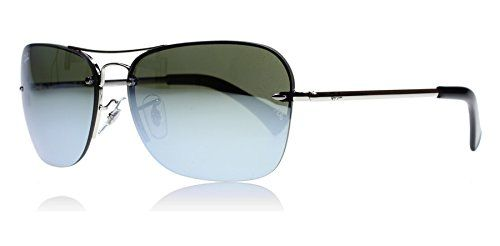 Ray-ban Men Mod. 3541  Sunglasses, silver (silver), size 61  Discount from Β£135,91 To Β£84,31
