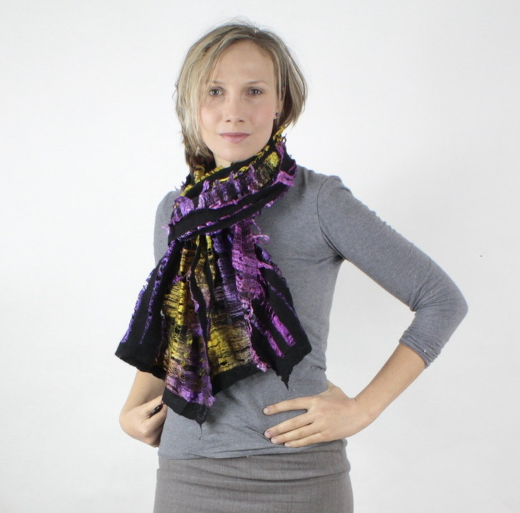 clasheen felting wearable clothes accessories