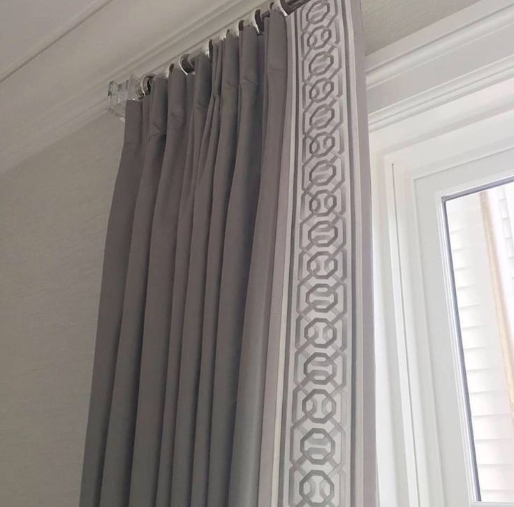 Curtain Leading Edge Ideas: Image Result For Contrasting Leading Edge Curtains Teal
