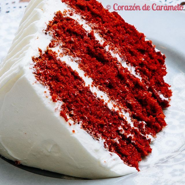 Red Velvet Layer Cake | Recetas de Cocina: Postres y dulces | Pintere ...