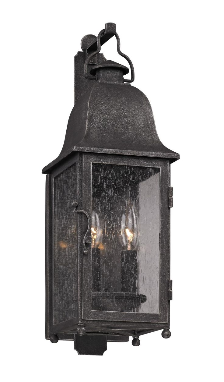 44 best outdoor lighting images on pinterest exterior lighting buy troy wall lantern larchmont aged pewter hand forged iron 2 lights 19 inch enhance your home with uniq items aloadofball Images