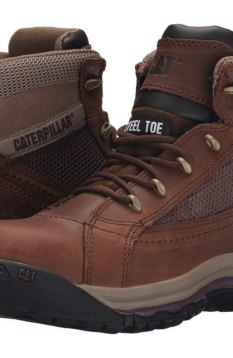 Caterpillar Champ Mid ST (Brown Sugar) Women's Work Boots - Caterpillar, Champ Mid ST, P90664, Footwear Boot Work, Work, Boot, Footwear, Shoes, Gift - Outfit Ideas And Street Style 2017