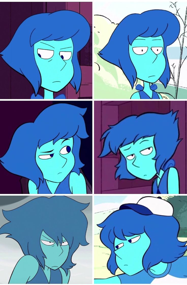 Lapis looks so done right now.