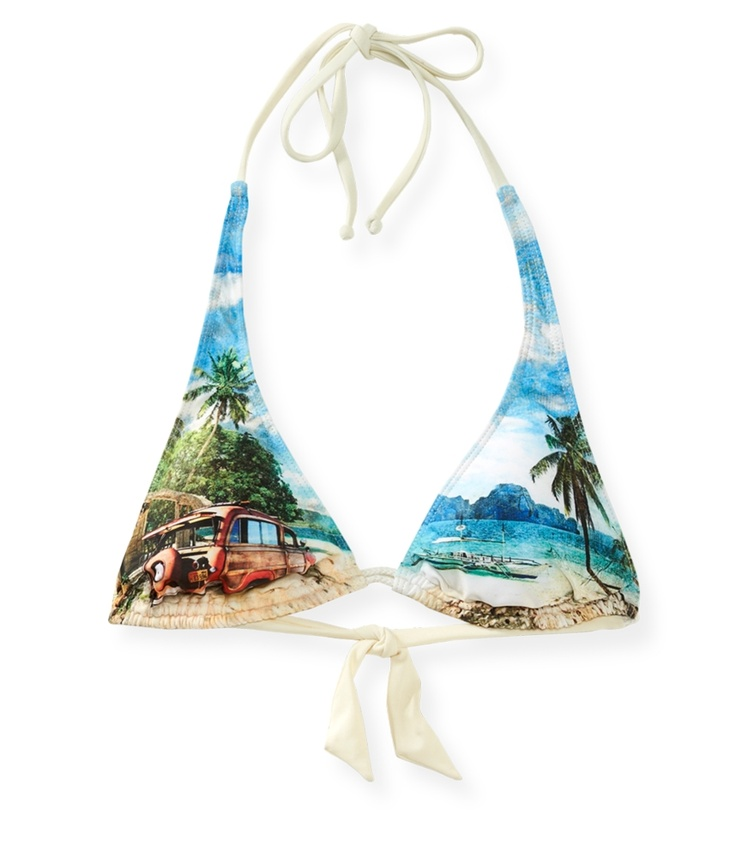 Hobie® Sublimated Scene Tall Triangle Top from Aéropostale