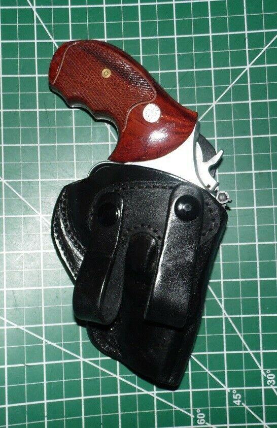 Ad(eBay) Tagua EC-IPHS-900 RH Leather IWB Holster S&W 2 5