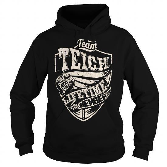 Amazing Team TEICH Lifetime Member Dragon Last Name Surname T Shirt