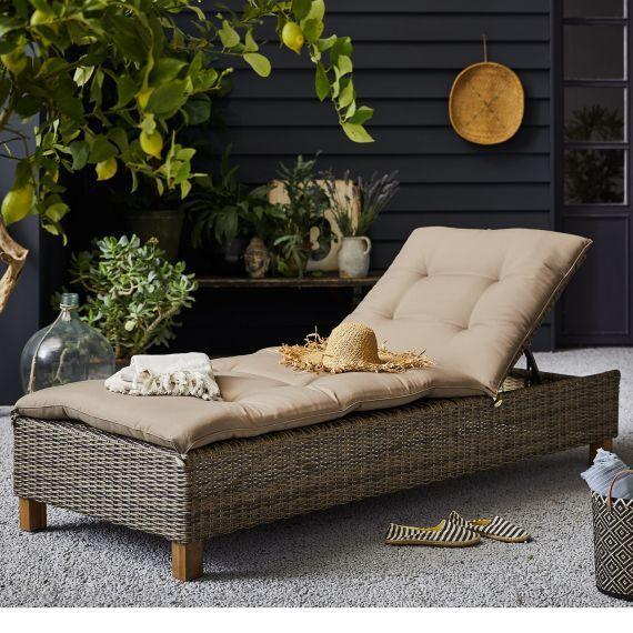 Outdoor Liege Florenz Gartenliege Outdoorliege Gartenliege Outdoor Liege Relaxliege