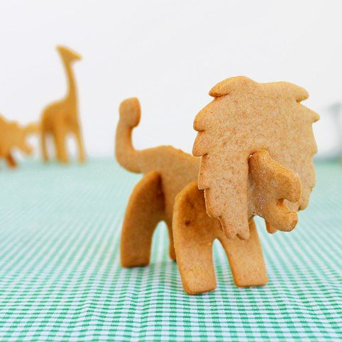 Safari Animal Cookie Cutters from Firebox.com