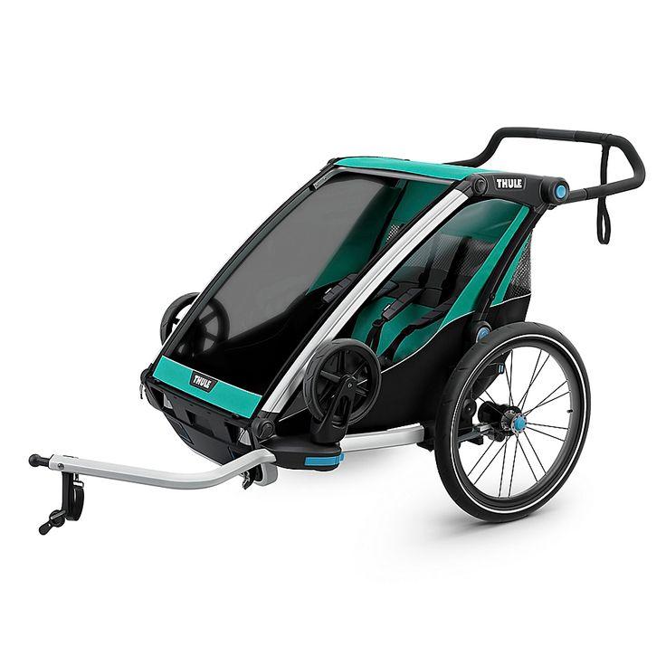 Thule Chariot Lite 1 Multisport Trailer In 2020 Thule Bike Baby Strollers Best Baby Strollers