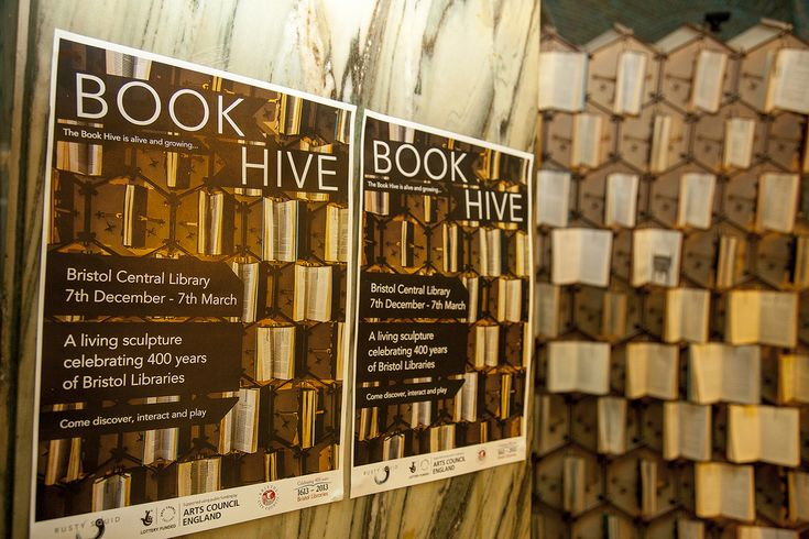 Welcome to the Book Hive, a large-scale interactive sculpture created by Rusty Squid to celebrate 400 years of public libraries in Bristol, UK. The Hive is a swarm of animated books within hexagonal cells that open and close. The Hive … Continue reading →The post Books meet robotics in the Book