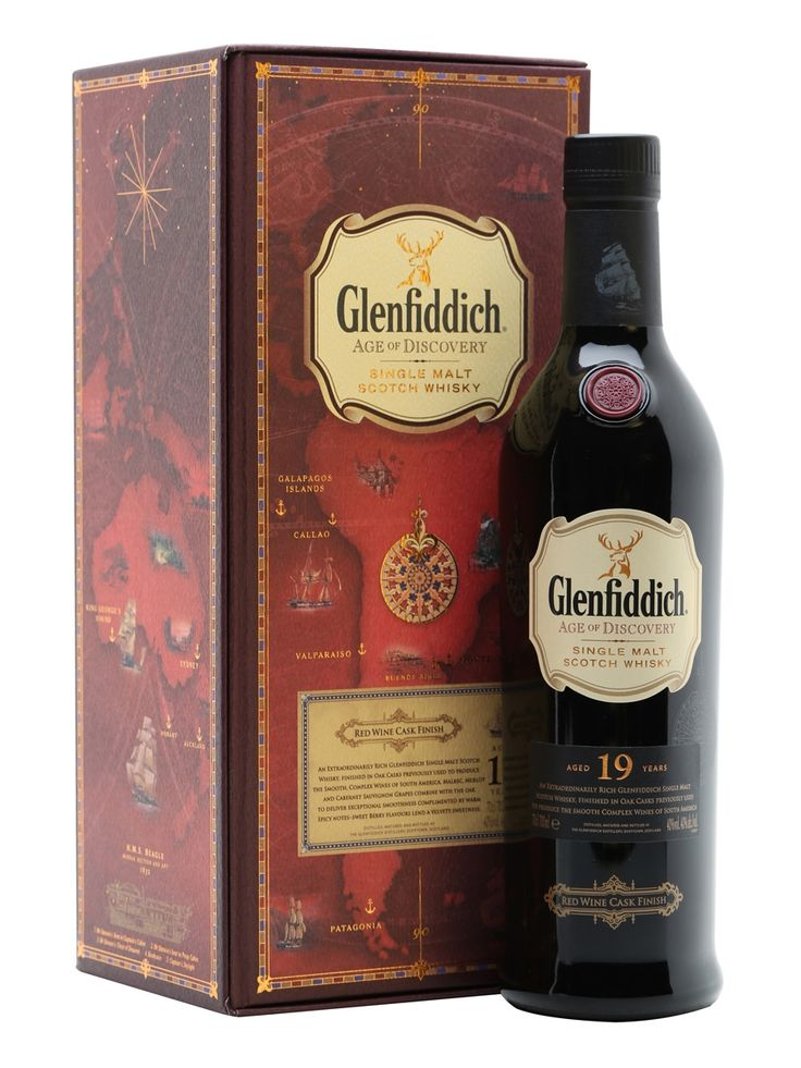 Glenfiddich Age of Discovery Red Wine Cask 19 year (£99)