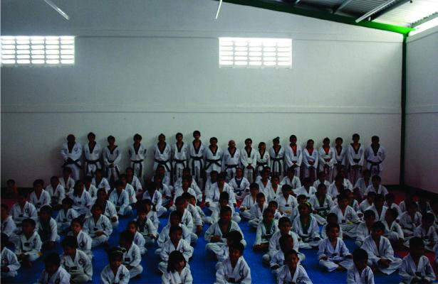Exitoso sinodal para alumnos del Instituto mexicano de Taekwondo en Playa del Carmen