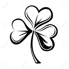 Image result for stencil 3 leaf clover