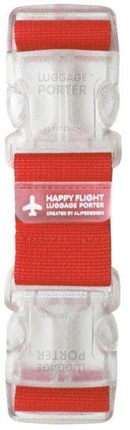 Alife Design Happy Flight Luggage Porter Strap. Click the link to shop right now for your next travel adventure! <3 #travel #digitalnomad #flight #adventure #wanderlust #travelhacks