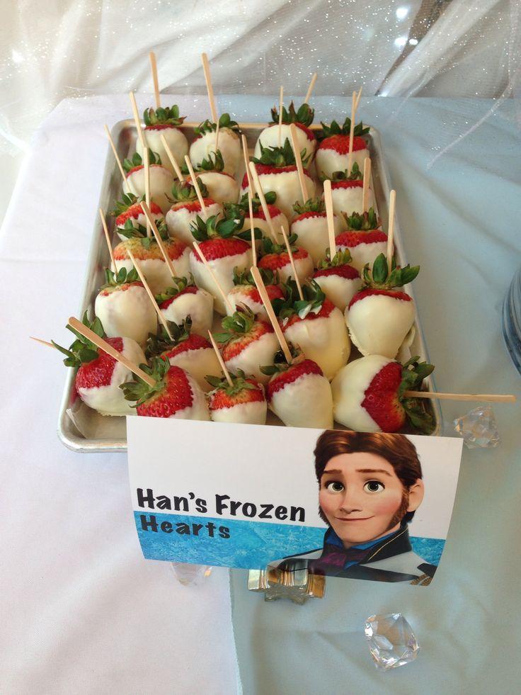 Movies in the Park-Frozen Snacks. Hans' Frozen Hearts