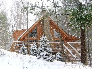 Boone cabin rental for Christmas with the family