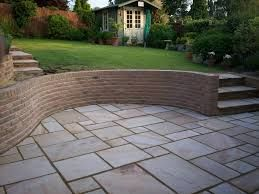 york stone patio with steps - Google Search