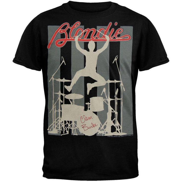 Blondie - Clem Burke Soft T-Shirt