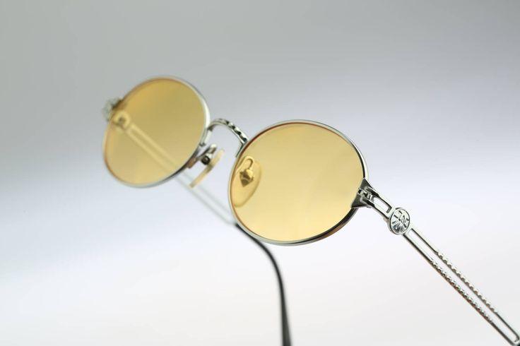 Jean Paul Gaultier 57-6103 / 90s / Vintage sunglasses / NOS / Steampunk designer eyewear by CarettaVintage on Etsy