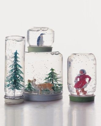 Create a Winter Wonderland in a Jar