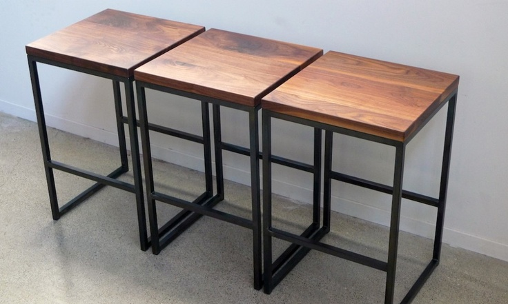 Wood Steel Bar Stools Ohio Design San Francisco Beautiful Useful Objects Pinterest And Stool