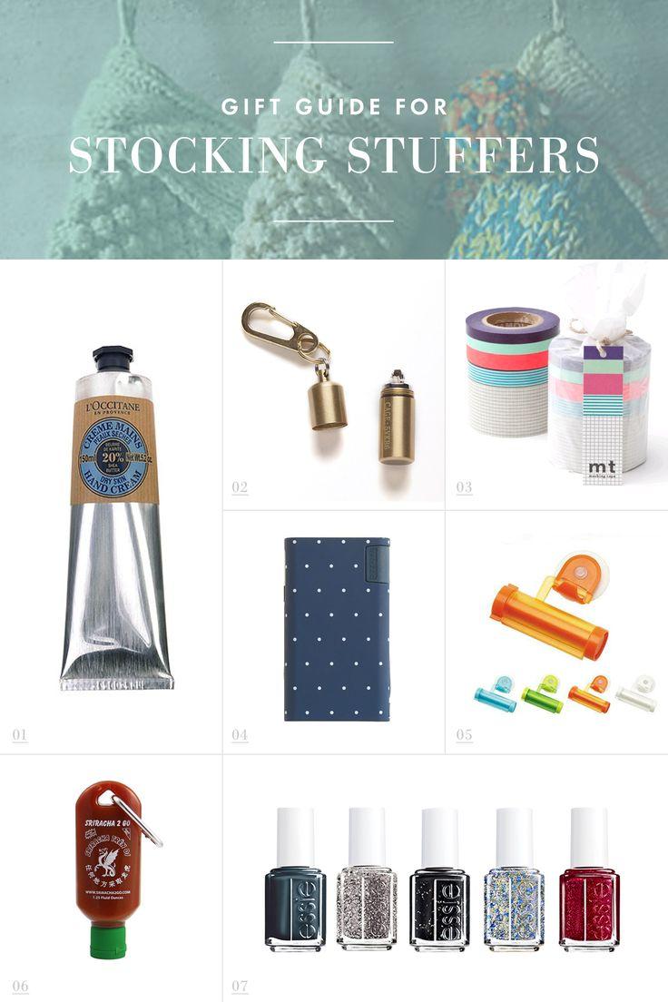Stocking Stuffer Ideas /