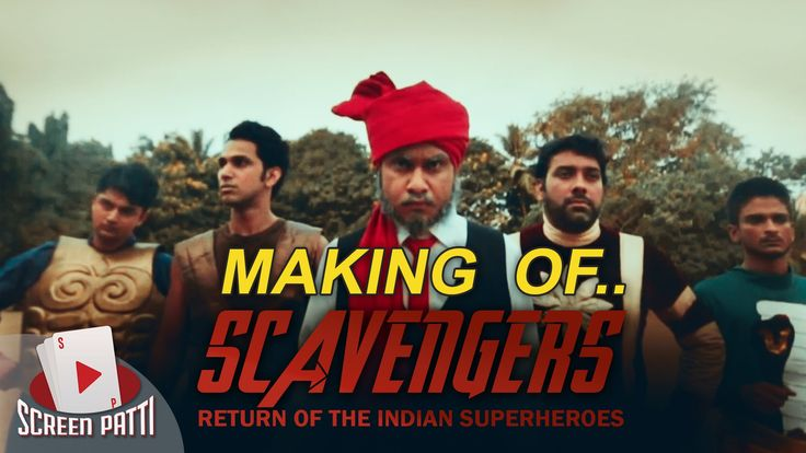 Scavengers - The Return of Indian Superheroes | Behind The Scenes