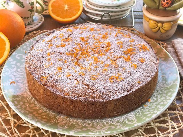 torta con succo d'arancia
