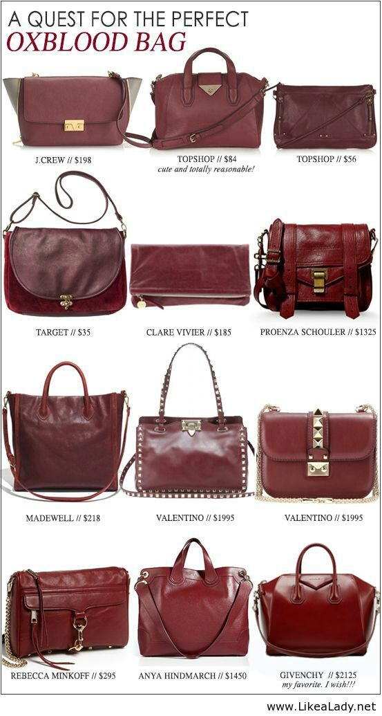Oxblood color goes with everything | Style | Pinterest ...