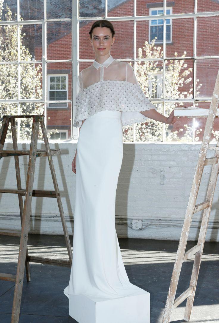 Lela Rose Bridal Spring 2017 [Photo: Thomas Iannaccone]
