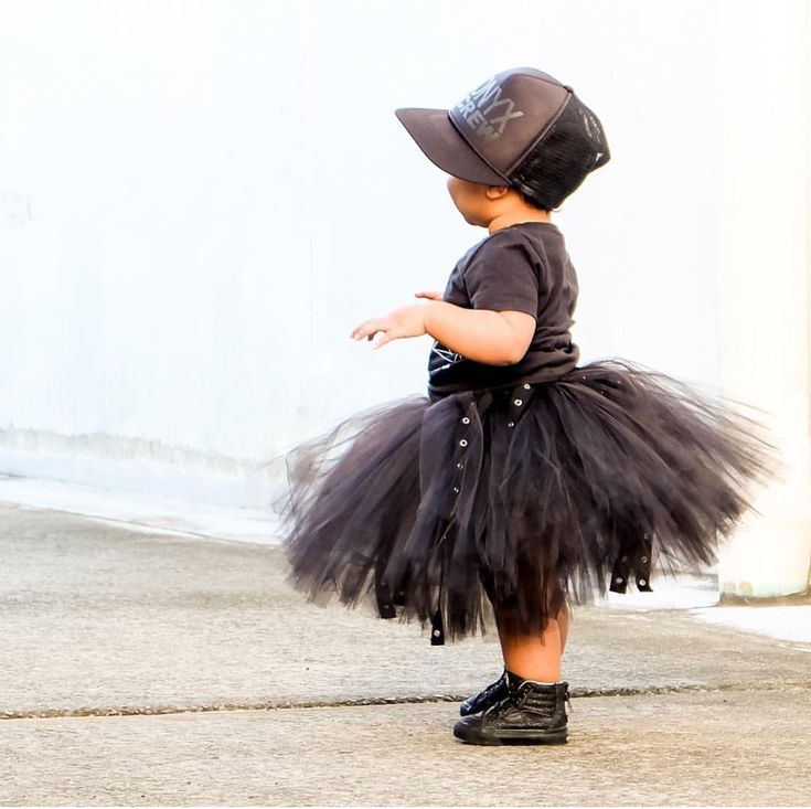 LIL' MR BABES GOT MORE SWAG THAN YOUR AVERAGE 😎 . TooToos in our webstore now.  www.lilmr.com.au #girlsfashion #kidsfashion #kidsootd #streetwear #urban #tutu #streetstyle #monochrome