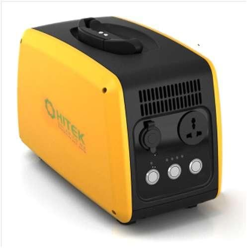 This is the perfect small portable Solar Powered Generator. It can supply a constant 500w 230V AC Output (700w Peak) thanks to the Pure Sine Wave Inverter it us