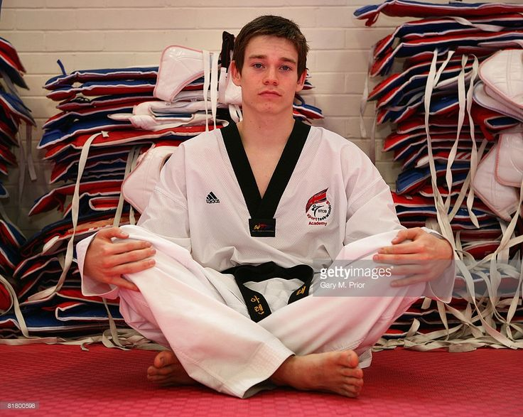 Aaron Cook of Team GB during a training camp at The Feat Factory on July 2, 2008…