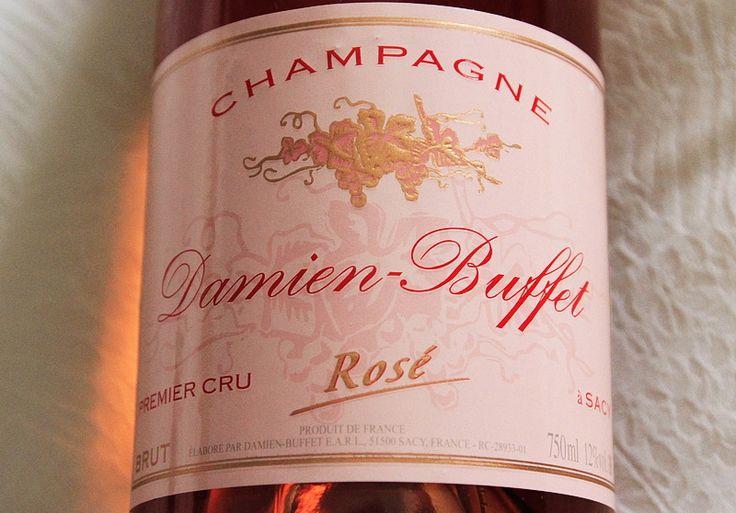 Cuvée de champagne Brut Rosé   Champagne 1er cru Damien Buffet et chambre d'hôtes à Sacy près de Reims