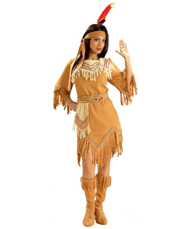 Princess Tiger Lily Women's Indian Costume