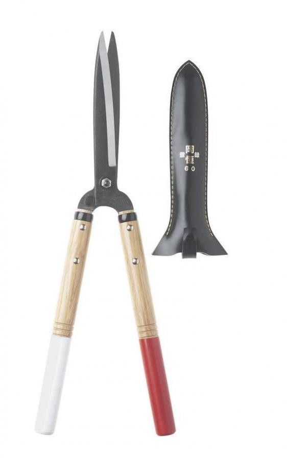 Okatsune Shears. Niwaki's Okatsune Precision Hedge Shears are the tool of choice for Jake Hobson, a sculptor who shapes trees in the soft, billowy style known as cloud pruning. Made in Japan with two-toned white oak handles, the shears are $85.66 on Amazon.